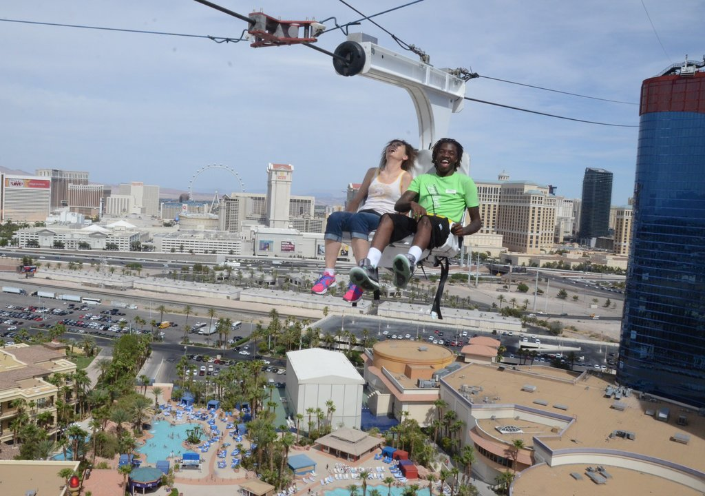 Picture of: Las Vegas Thrill Ride Offers New Zip Line Experience Explore By Expedia