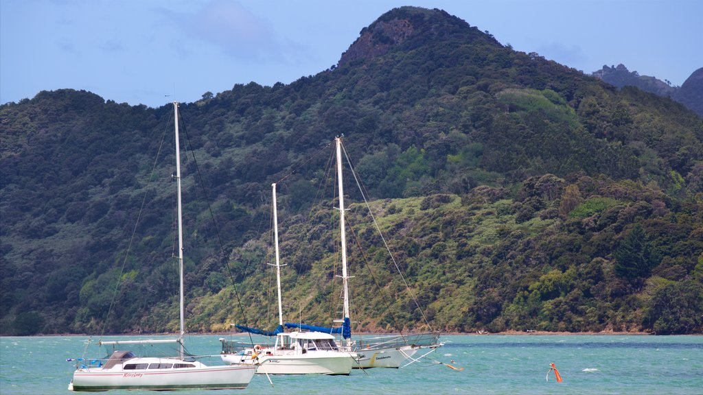 Whangarei featuring sailing, a bay or harbor and tranquil scenes