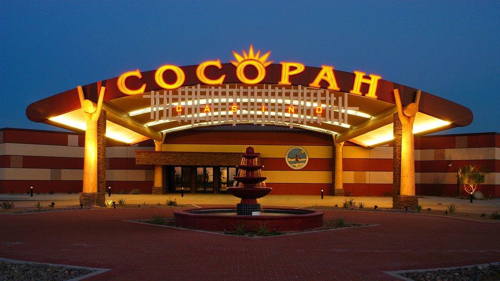 Yuma which includes night scenes and a casino