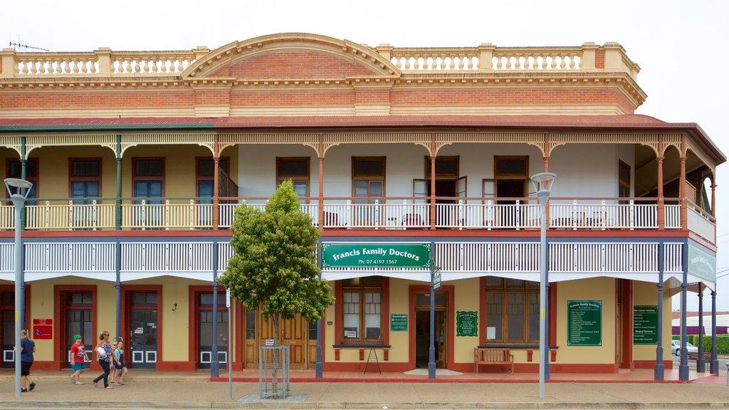 Maryborough ofreciendo elementos del patrimonio y patrimonio de arquitectura