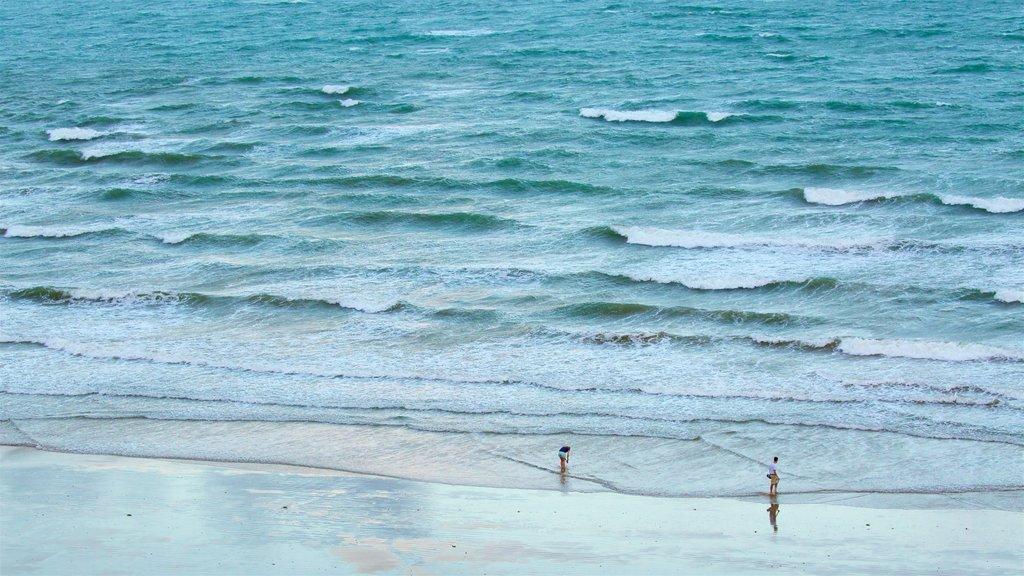 Yeppoon ofreciendo vistas generales de la costa y una playa de arena