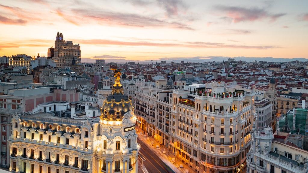 Ansicht von Madrid - Tourism Media