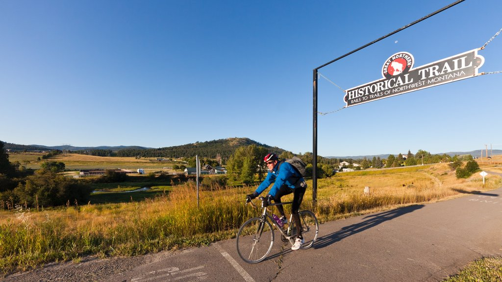 Kalispell which includes road cycling