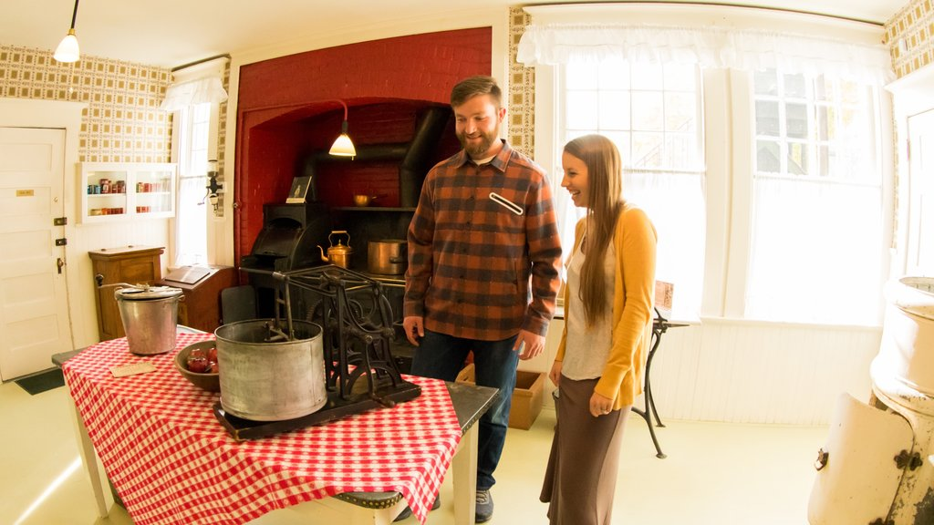 Conrad Mansion showing interior views