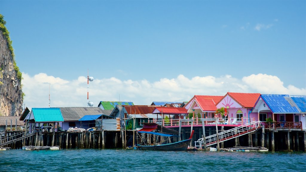 Ko Panyi featuring general coastal views