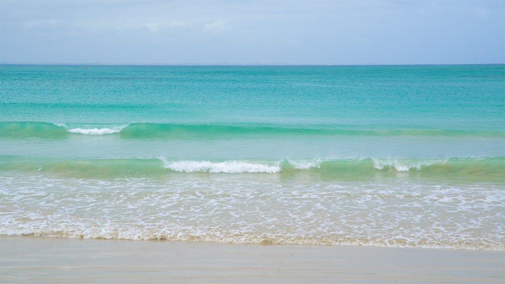 Port Fairy ofreciendo olas