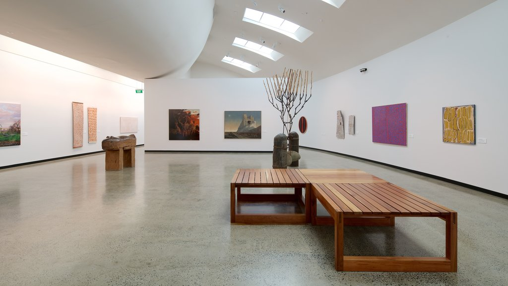 Ballarat Fine Art Gallery which includes interior views