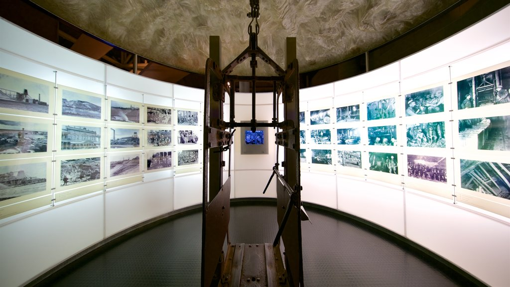 Gold Museum showing interior views