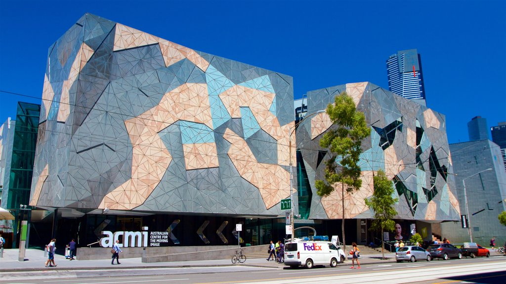 Melbourne featuring modern architecture