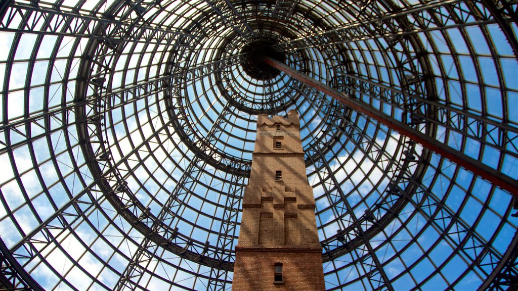 QV Centre featuring interior views and heritage architecture