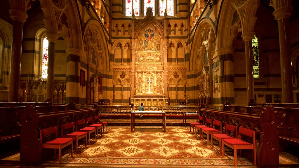 St Paul\'s Cathedral showing heritage architecture, a church or cathedral and interior views