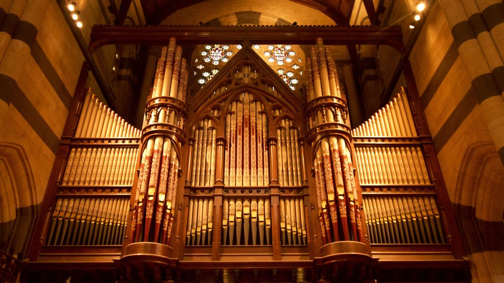 St Paul\'s Cathedral which includes interior views, a church or cathedral and music