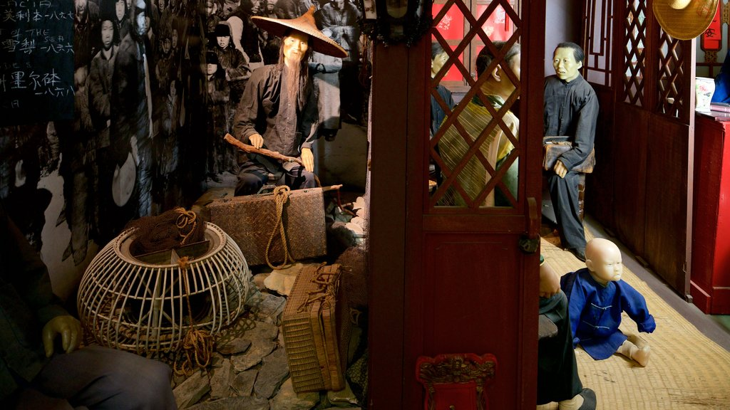 Golden Dragon Museum featuring interior views and heritage elements