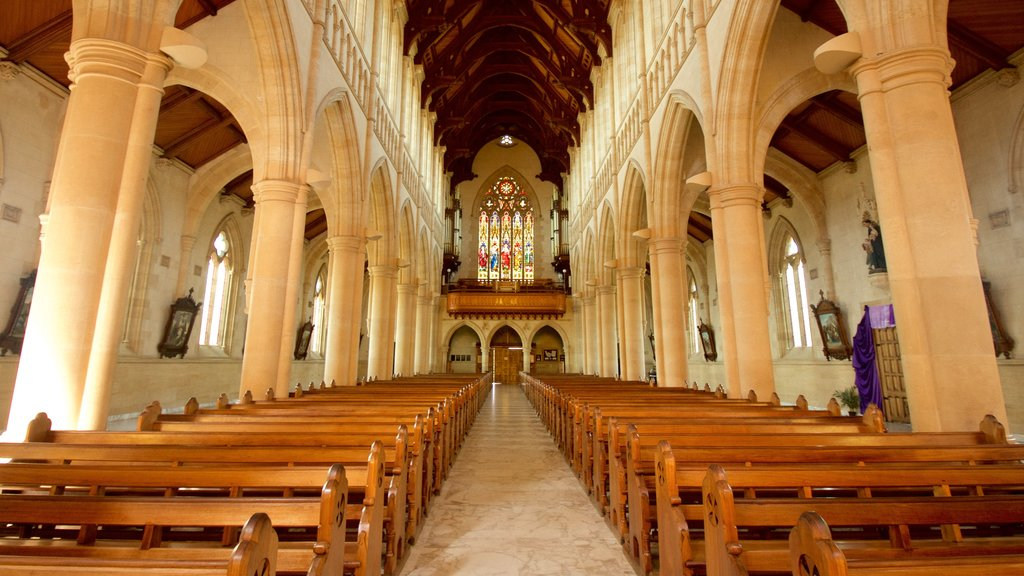 Bendigo which includes heritage elements, interior views and a church or cathedral