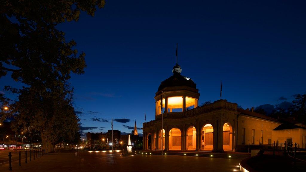 Bendigo showing night scenes