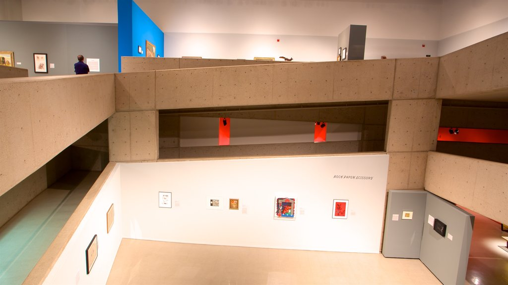 Tucson Museum of Art showing interior views