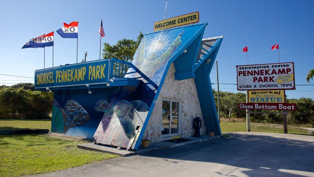 Key Largo featuring signage
