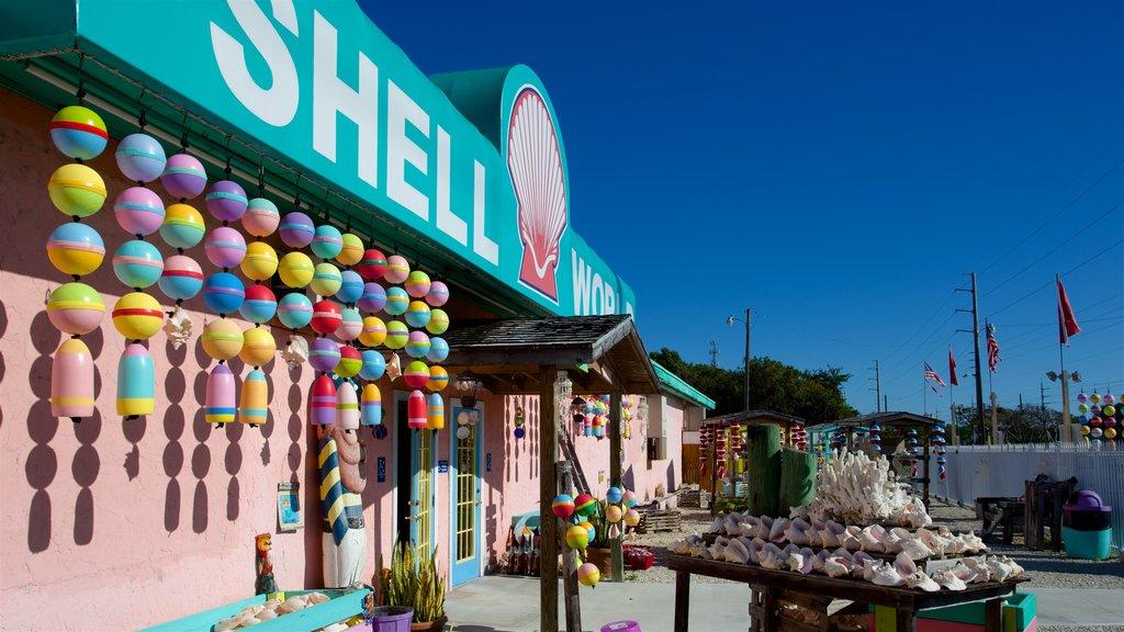 Key Largo showing shopping