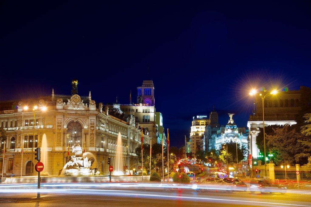 Madrid bei Nacht - Tourism Media
