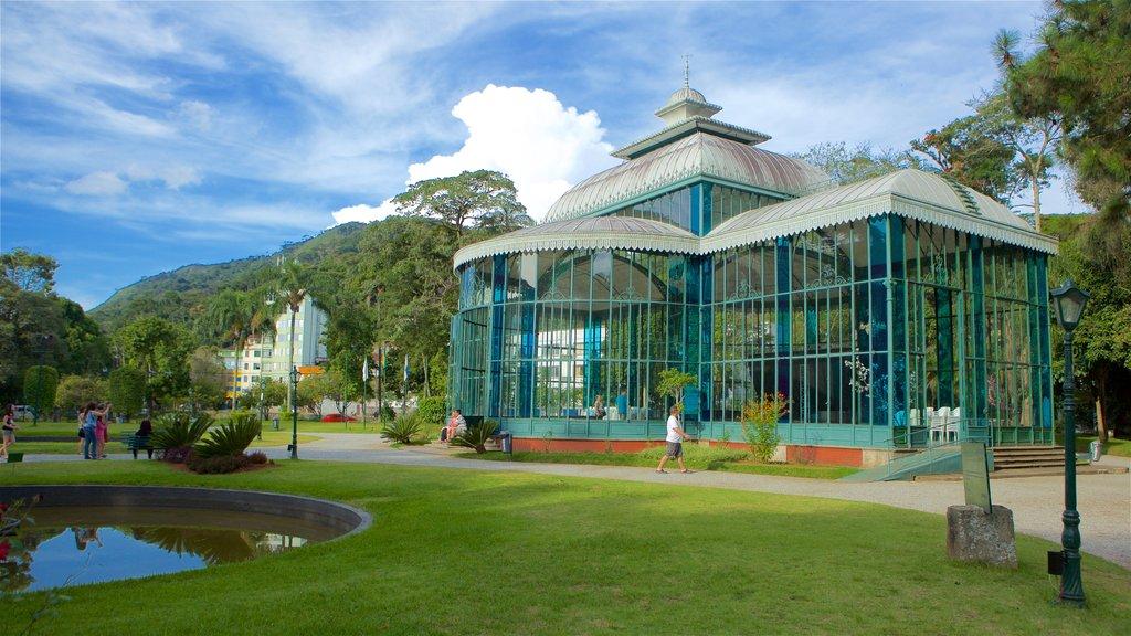Bairro Jardim Botânico featuring a garden