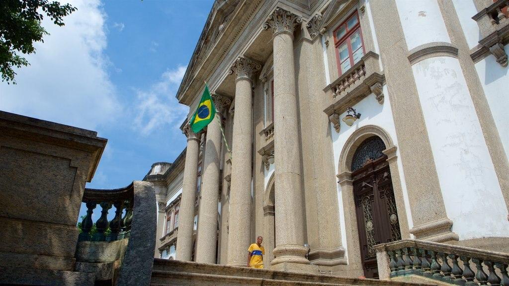 Río de Janeiro ofreciendo elementos del patrimonio y escenas urbanas