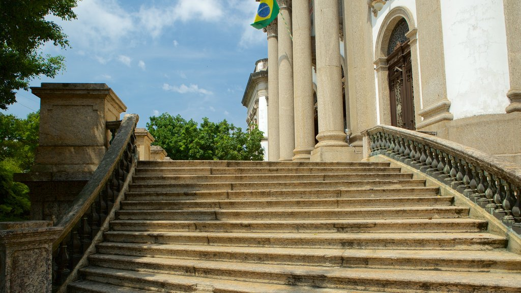 Río de Janeiro ofreciendo elementos del patrimonio
