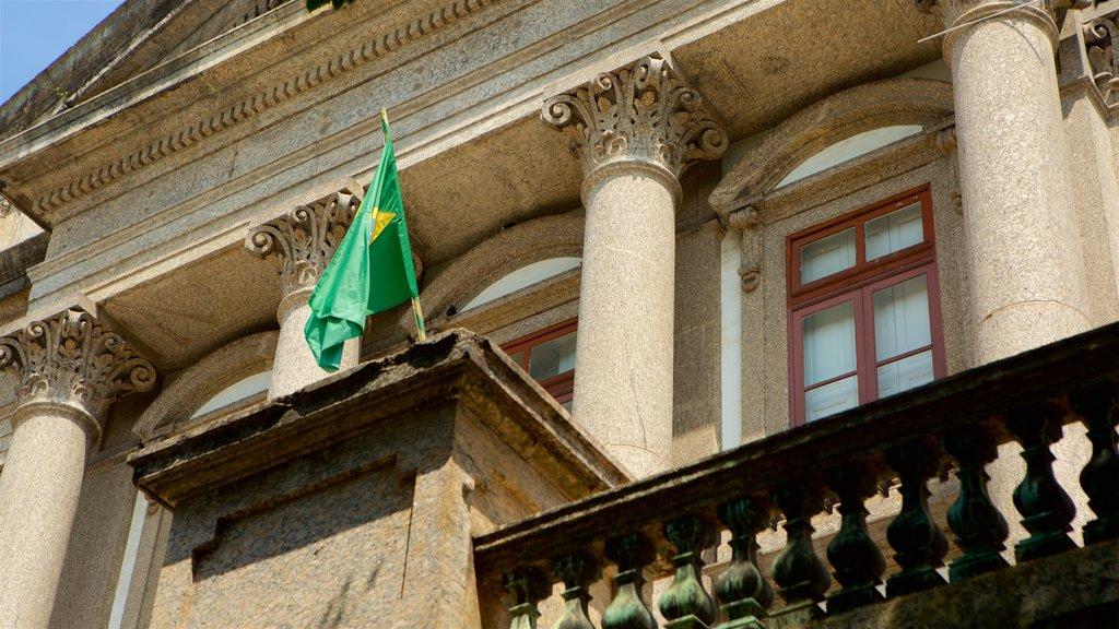 Río de Janeiro mostrando elementos del patrimonio