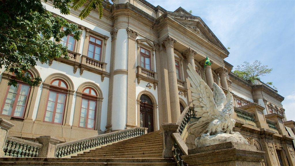Río de Janeiro mostrando elementos del patrimonio y escenas urbanas
