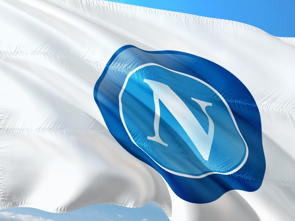 Die Flagge des SSC Neapel - Pixabay