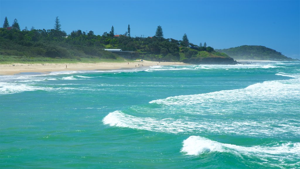 Northern Rivers which includes a sandy beach