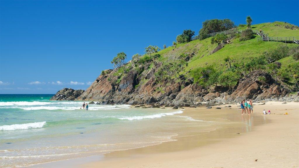 Cabarita Beach featuring a beach