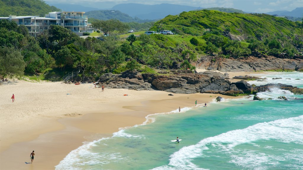 Tweed Heads which includes a sandy beach
