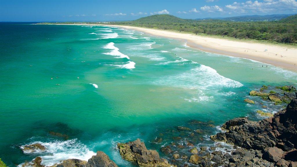Cabarita Beach showing a beach