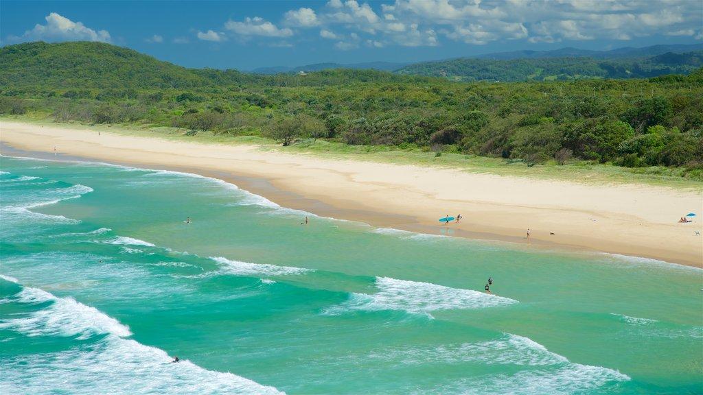 Tweed Heads showing a beach