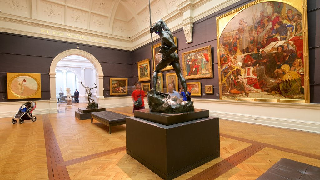 Art Gallery of New South Wales featuring interior views