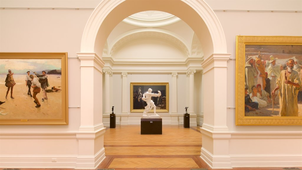Art Gallery of New South Wales which includes interior views
