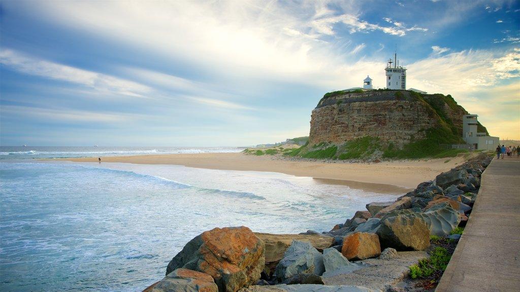Nobbys Head Beach featuring a beach