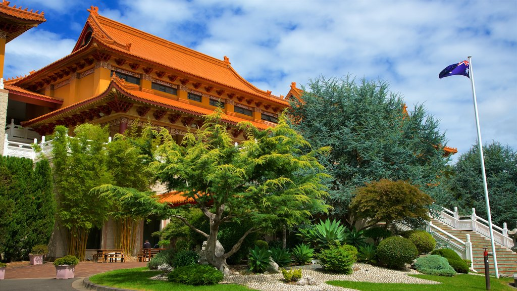 Nan Tien Temple which includes a temple or place of worship