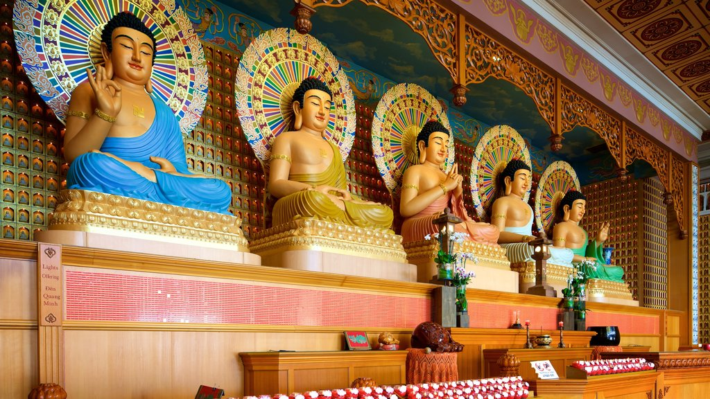 Berkeley showing interior views, religious aspects and a temple or place of worship