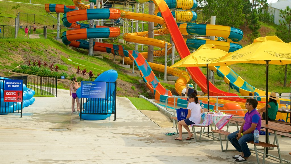 Coffs Harbour which includes a waterpark