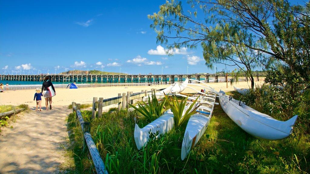 Coffs Harbour featuring a sandy beach