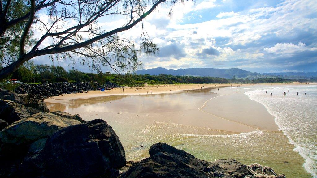 Park Beach which includes general coastal views and a sandy beach