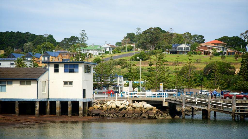 Eden featuring a coastal town