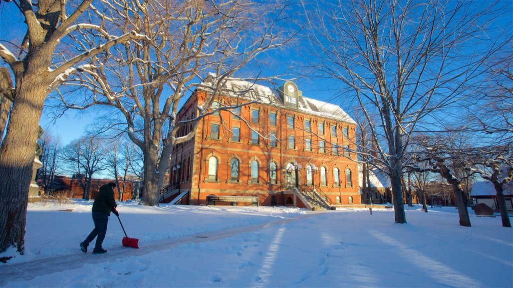 Charlottetown featuring snow