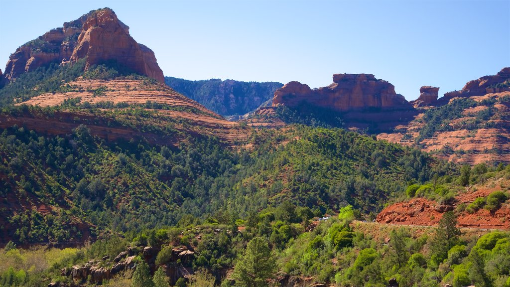 Sedona featuring tranquil scenes and a gorge or canyon