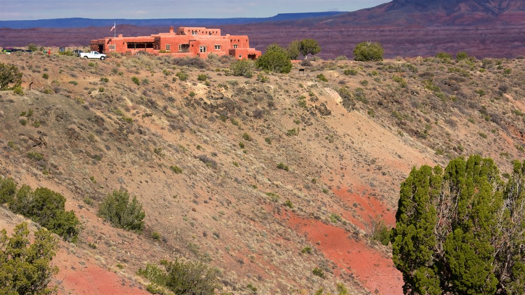 Northern Arizona showing tranquil scenes, an administrative buidling and desert views