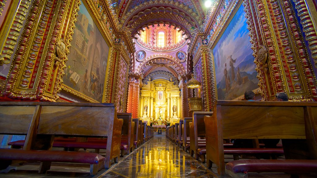 Mexico featuring a church or cathedral, heritage architecture and interior views