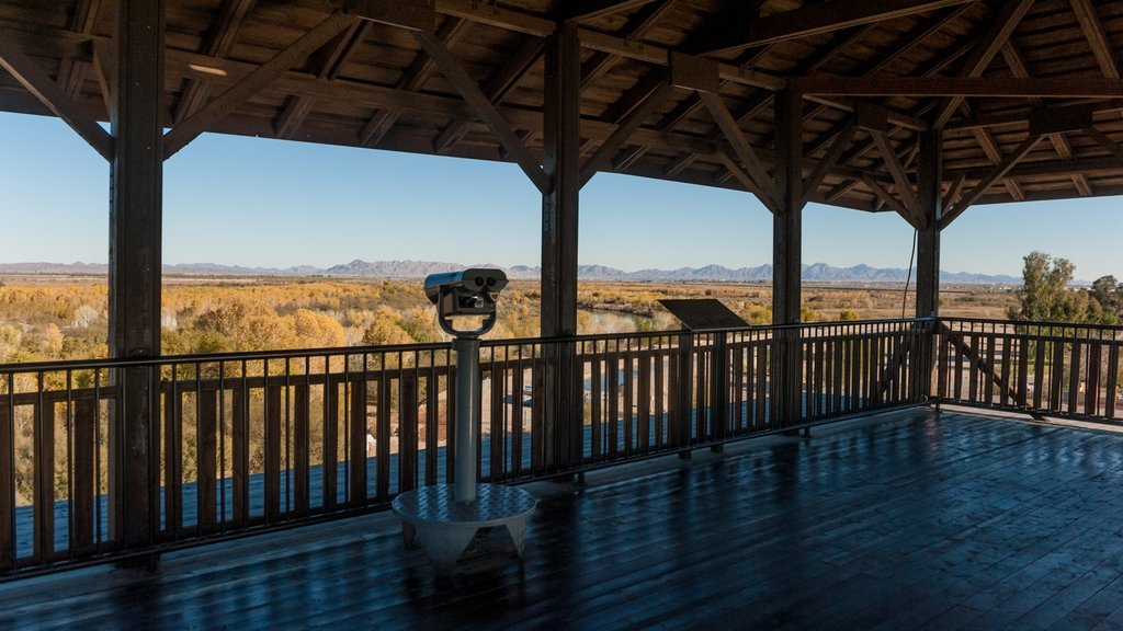 Yuma Territorial Prison State Historic Park featuring views