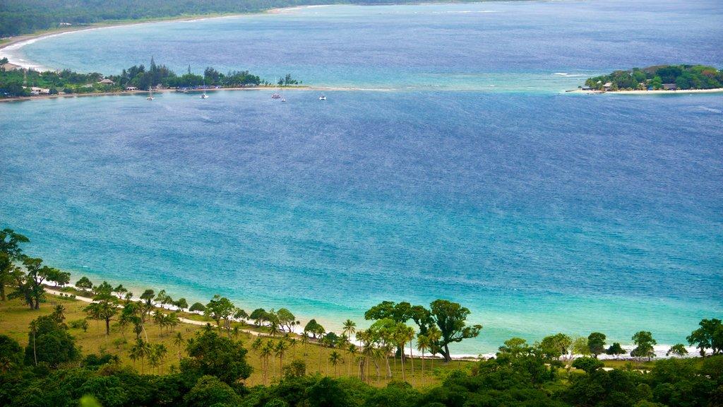 Port Vila showing general coastal views