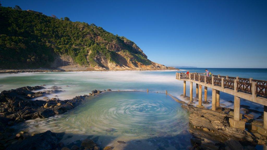 Victoria Bay featuring rocky coastline and general coastal views